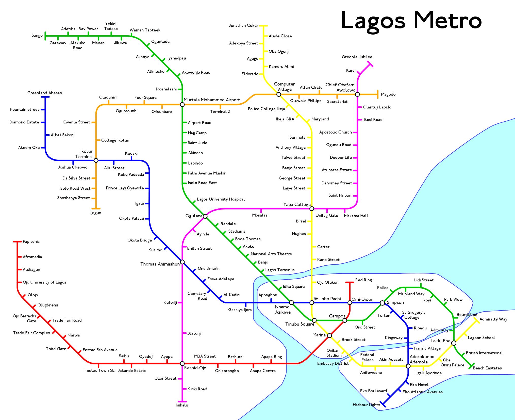 Fantasy Toronto Subway Map.Fantasy Metro Maps